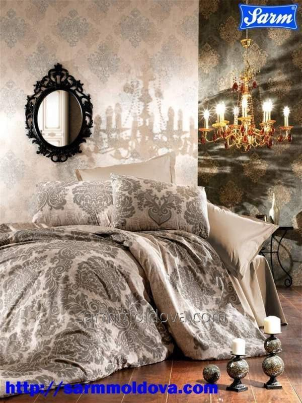 Euro bed linen Ranfors satin