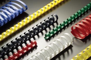 Купить Пружина для брошуровки Binding combs A4, 9mm, blue