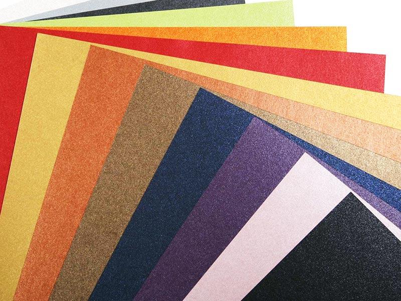 Купить Художественный картон SO SILK Glamour Green FCS, 250g/m2, 72*102cm, 100foi/top