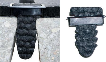 Коврик из каучука противоскользящий Lospa Swiss