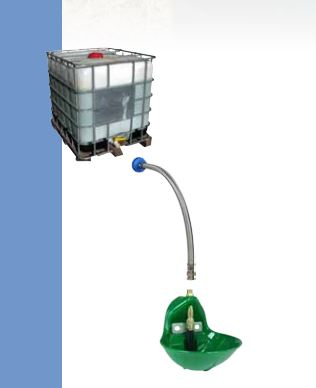 Набор для подключения поилок к контейнеру IBC