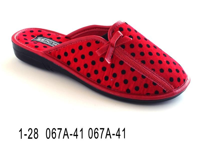 Женские тапочки 1-28 067А-41 067А-41