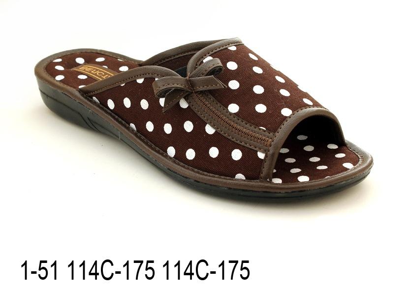 Женские тапочки 1-51 114С-175 114С-175
