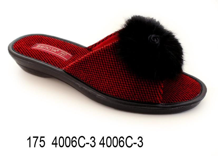 Женские тапочки 175 4006С-3 4006С-3