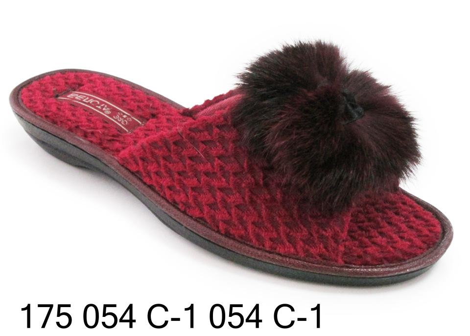 Женские тапочки 175. 054 с-1 054 с-1