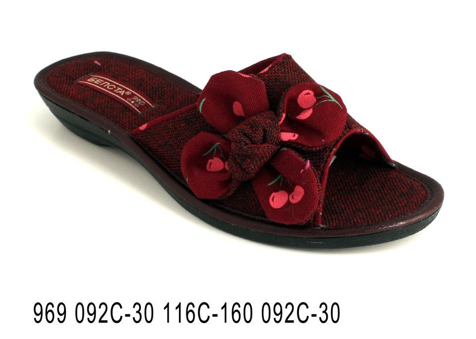 Женские тапочки 969 092С-30 116С-160 092С-30