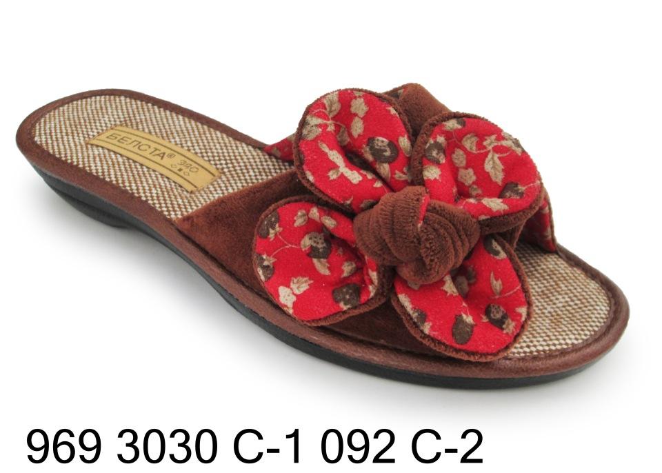Женские тапочки 969 3030с-1 092с-2