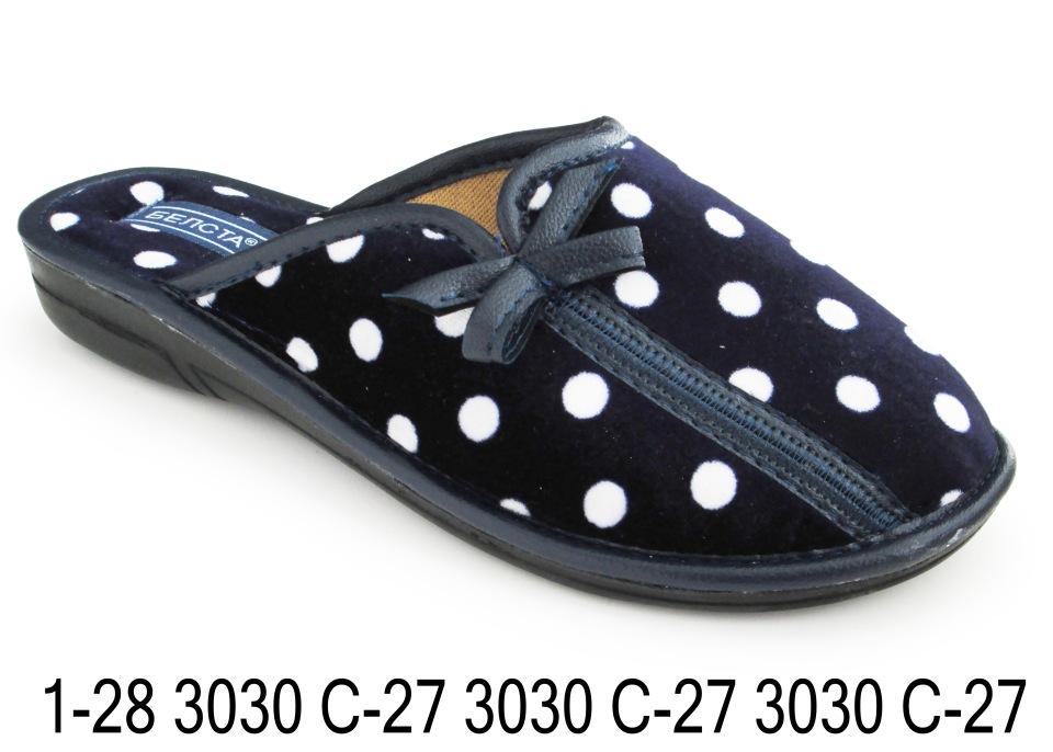 Женские тапочки 1-28 3030с-27