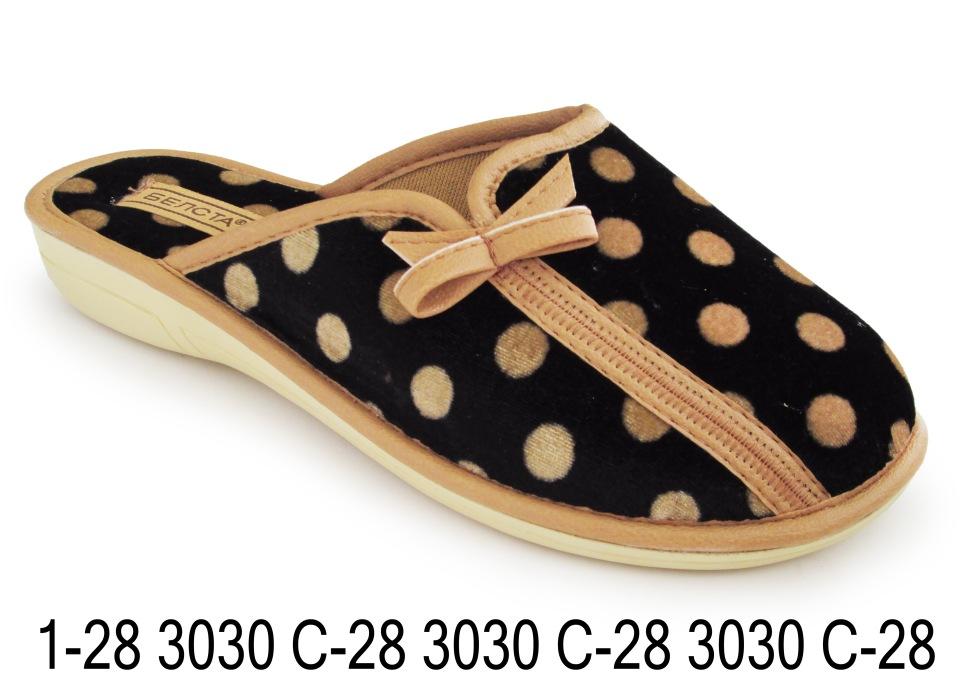 Женские тапочки 1-28 3030с-28