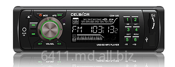 Автомагнитола Celsior USB, Mp3 ресивер