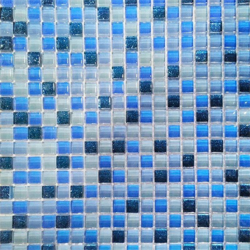Мозаика Wellness Brilant Blau Mix 30x30см