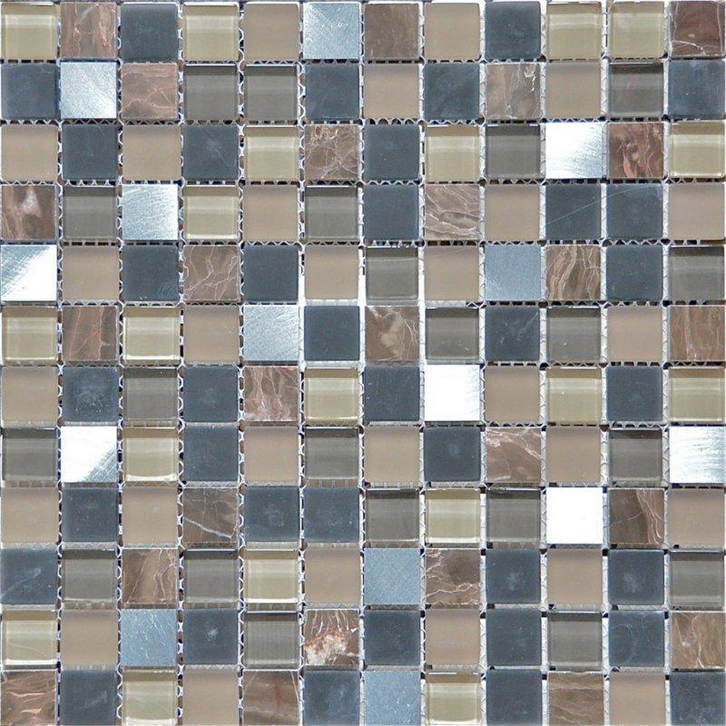 Мозаика Wellness Cobre braun Kupfer mix 30x30см
