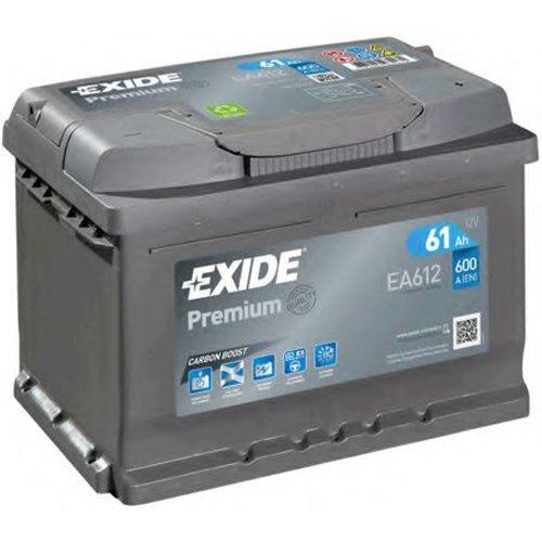 Аккумулятор Exide Premium EA612 61Ач 600А