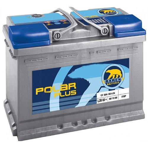Аккумулятор Polar Plus 6CT-55Аз