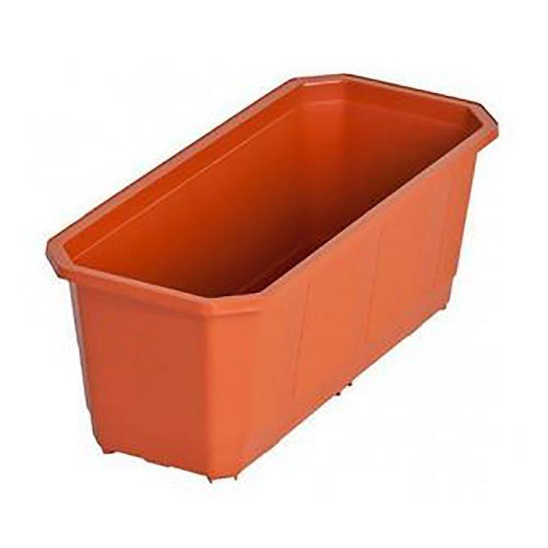 Балконный ящик для цветов кирпичный 800х170мм