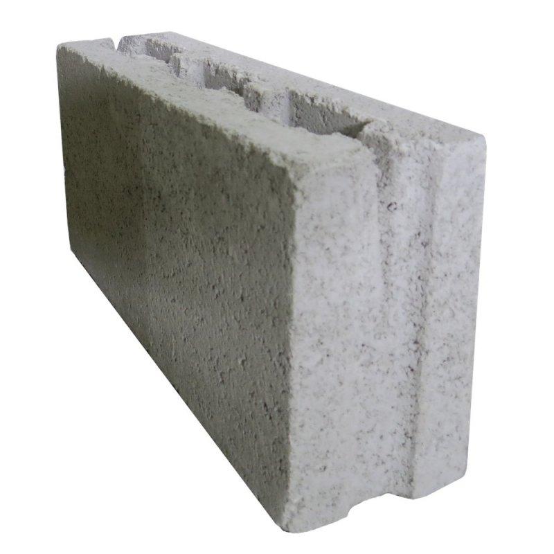 Блок стеновой (фортан) 390x195x100мм