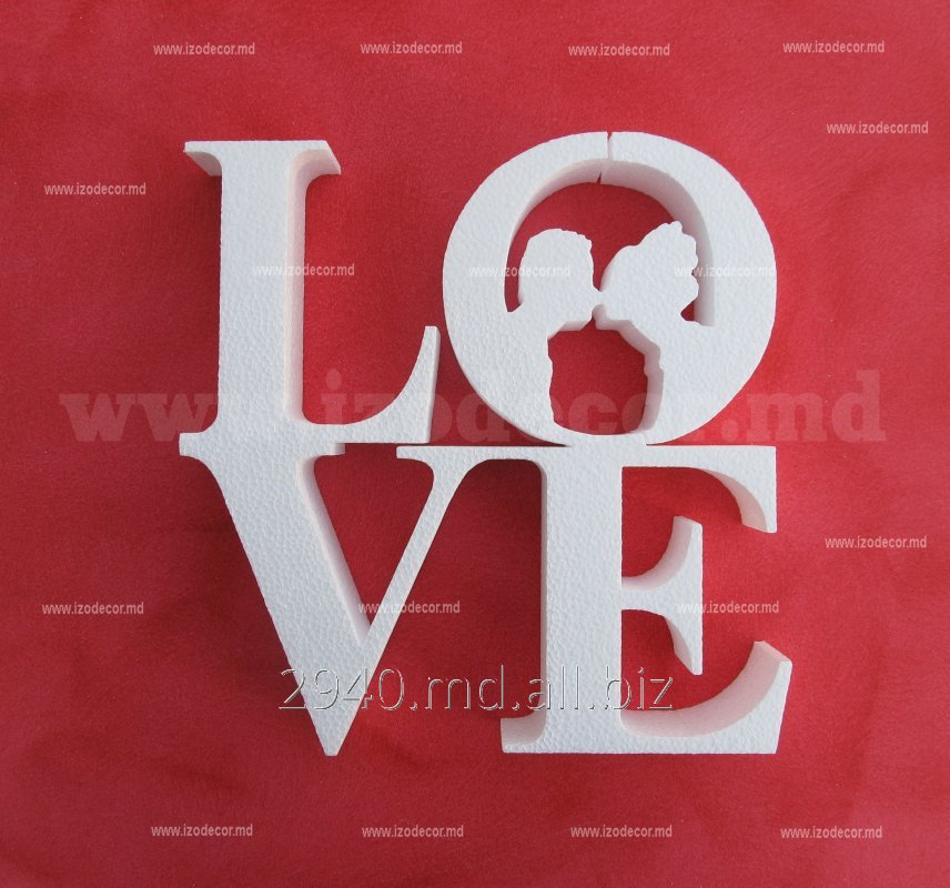 Buy Logos, letters, figures from polyfoam