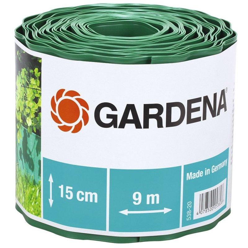 Бордюр садовый 538-20 зеленый 15см