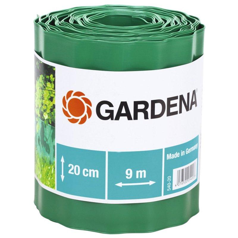 Бордюр садовый 540-20 зеленый 20см