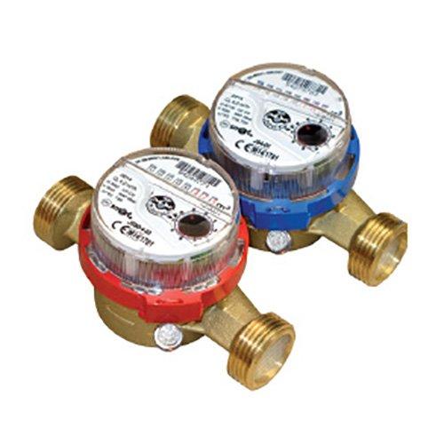 Водомер горячей воды DN-15 JS90 1.6 Smart+американки