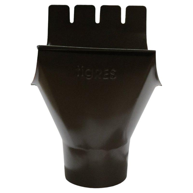 Воронка водосточная коричневый 125/90мм