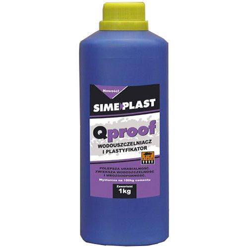 Гидроизоляционный пластификатор QProof 1кг