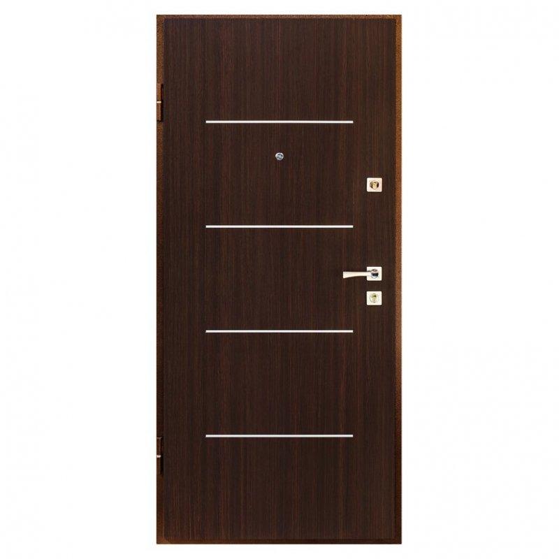 Дверь металлическая Арт.2 левая 205x88см