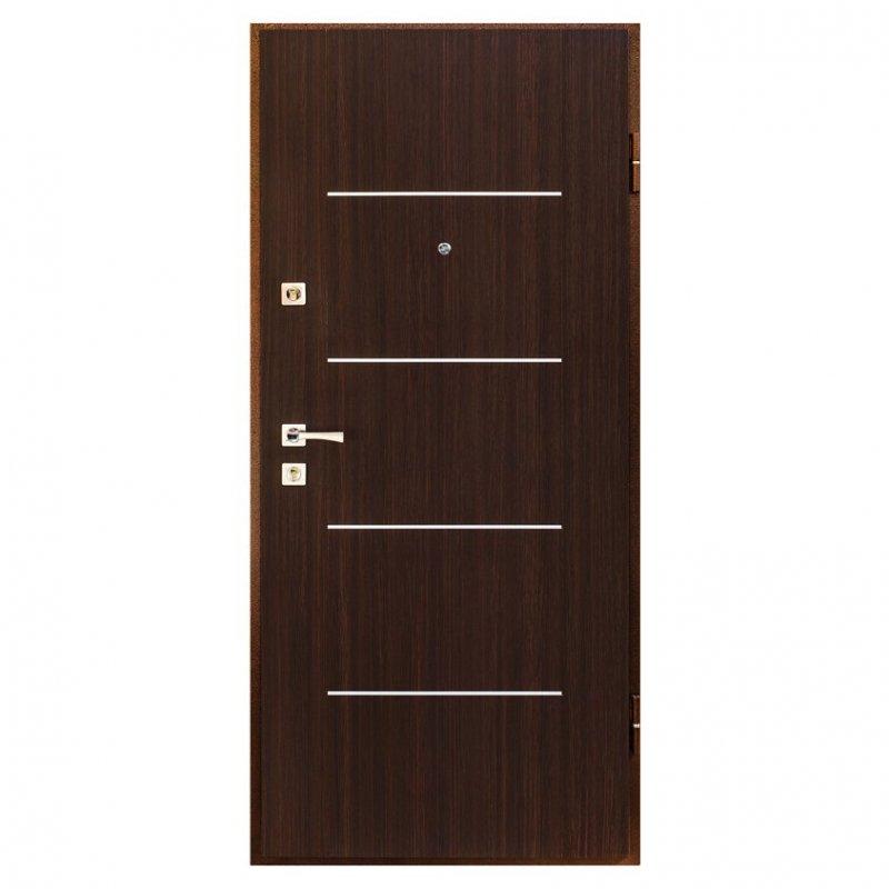 Дверь металлическая Арт.2 правая 205x88см