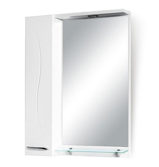 Зеркало со шкафчиком Luara 60