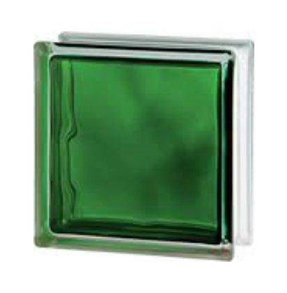 Купить Стеклоблок зеленый Brilly Emerald