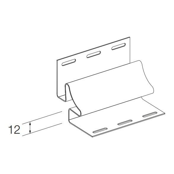 Купить Угол внутренний SV-13 для винилового сайдинга 3050мм светло-серый