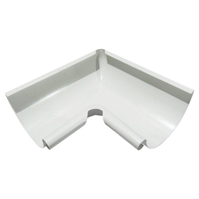 Купить Угол желоба внутренний белый 125мм