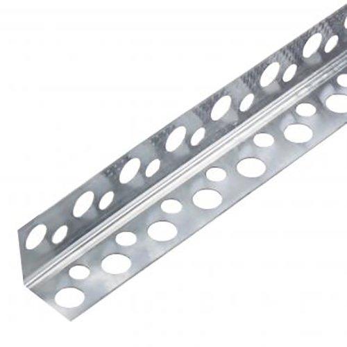 Купить Уголок алюминиевый перфорированный 25х25х3000мм Mega