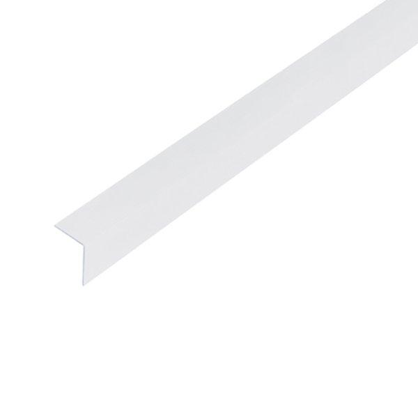 Купить Уголок пластиковый белый 100х100мм