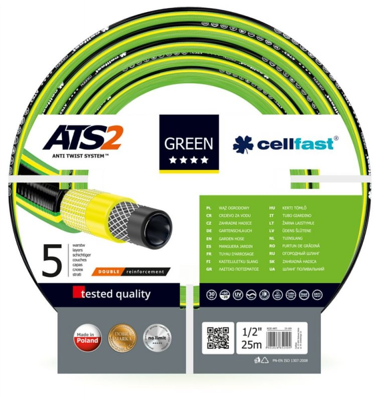 "Шланг Green ATS2 1/2"" 25м"