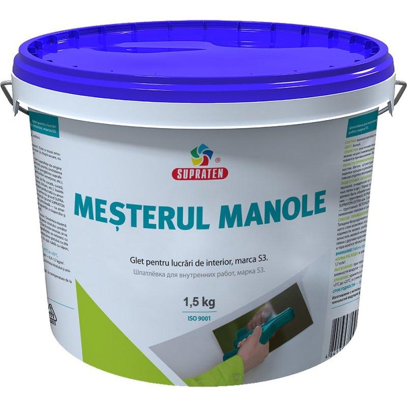 Купить Шпатлевка Mesterul Manole S3 1.5кг