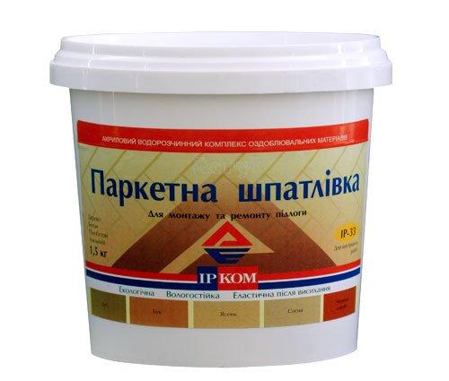 Купить Шпатлевка для паркета ИР-33 Ясень 1.5кг