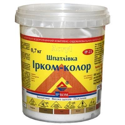 Купить Шпатлевка Ирком-Колор Дуб 0.7кг