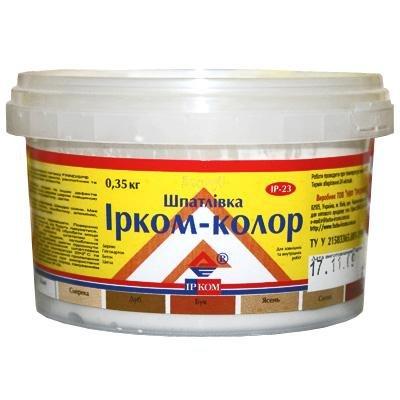 Купить Шпатлевка Ирком-Колор ИР-23 Орех 0.35кг