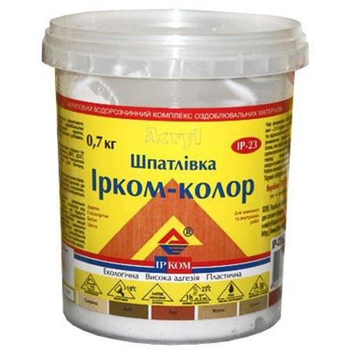 Купить Шпатлевка Ирком-Колор ИР-23 Орех 0.7кг