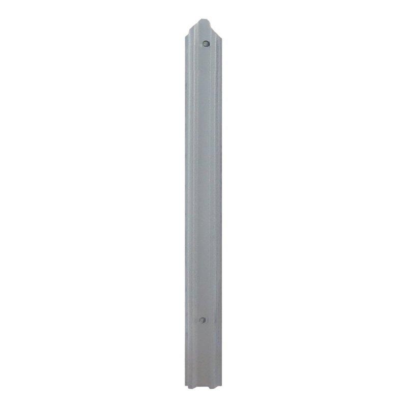 Купить Штакетная планка для забора 1500х100х0.4мм серый