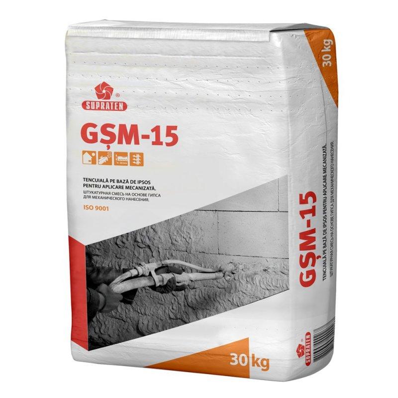 Купить Штукатурка гипсовая GSM-15 30кг