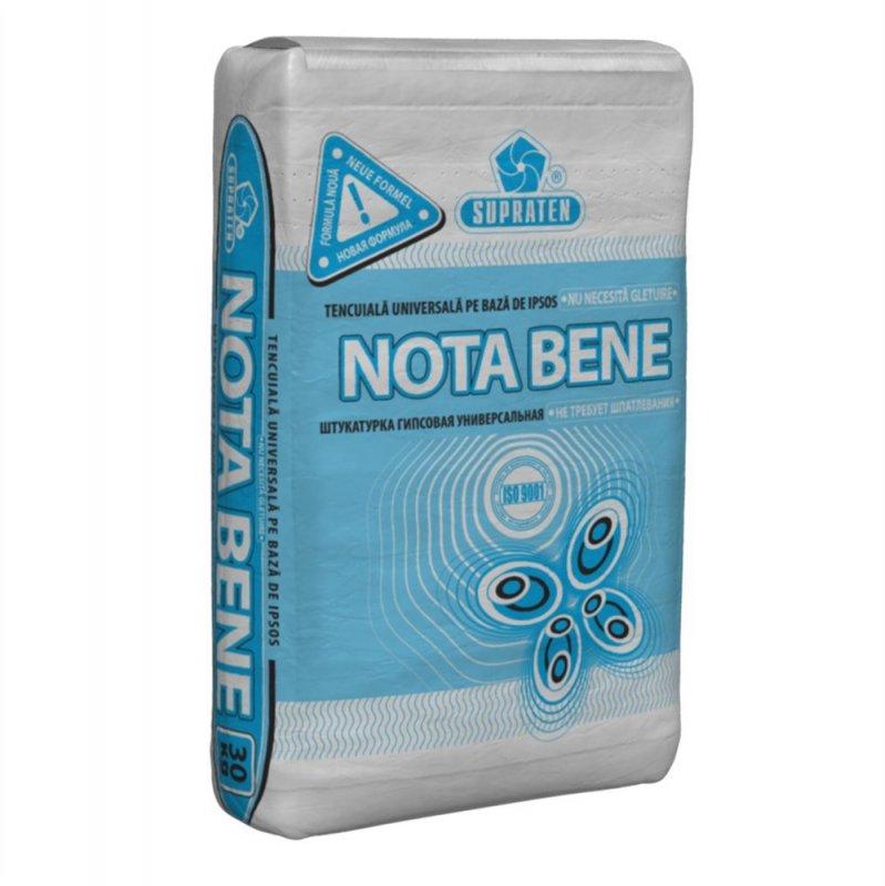 Купить Штукатурка гипсовая Nota Bene 30кг