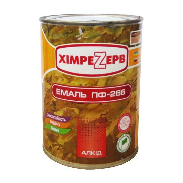 Купить Эмаль ПФ-266 Желто-коричневая 1кг