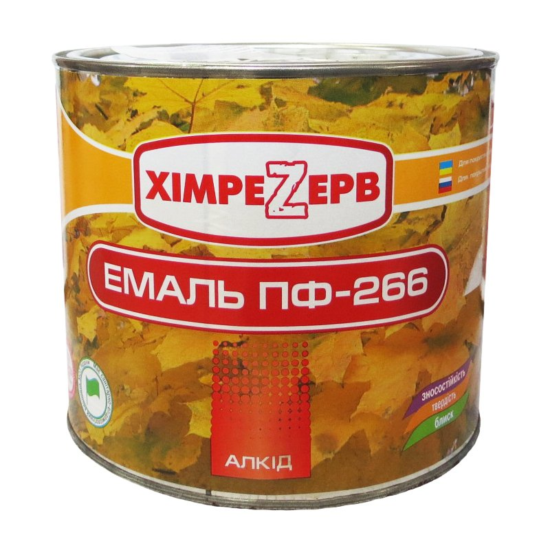 Купить Эмаль ПФ-266 Желто-коричневая 2.4кг