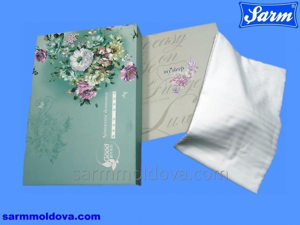 Элитные сатиновые комплекты постельного белья в подарочной упаковке