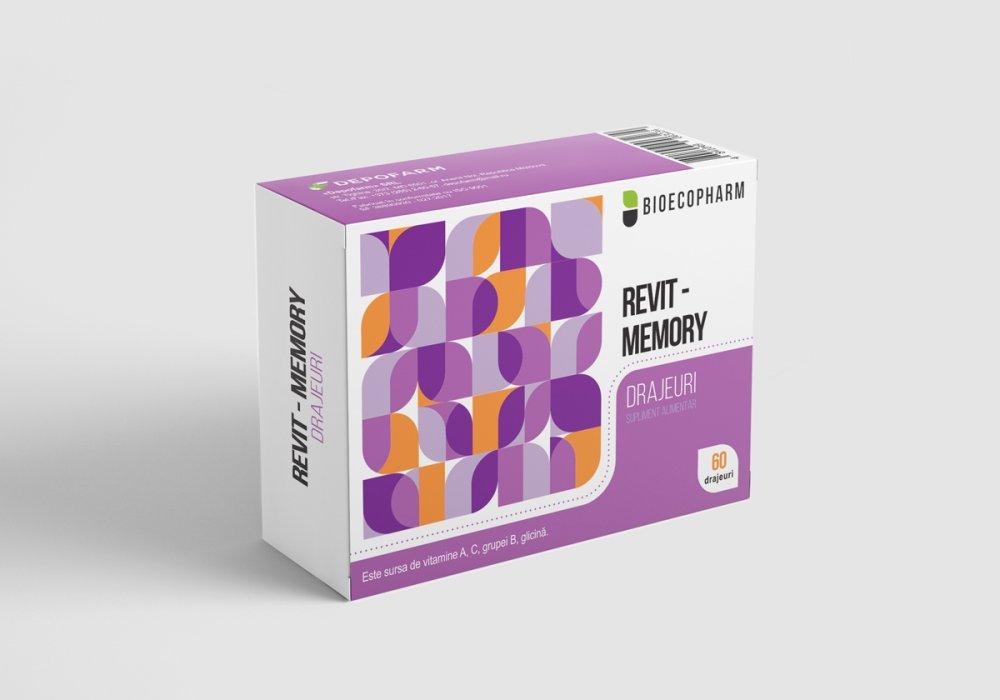 Купить РЕВИТ-MEMORY, поливитаминный препарат драже с глицином