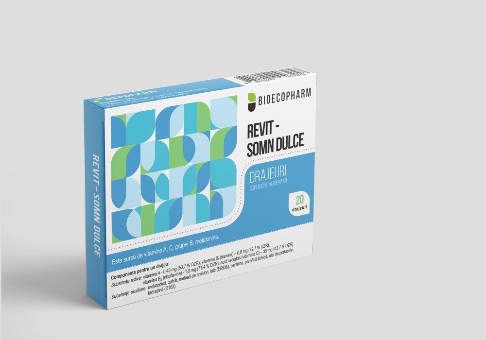 Купить РЕВИТ-СЛАДКИЙ СОН, драже, поливитаминный препарат с мелатонином
