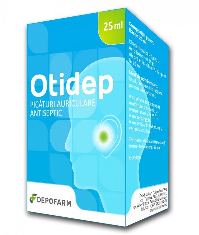 Купить ОТИДЕП, ушные капли антисептик