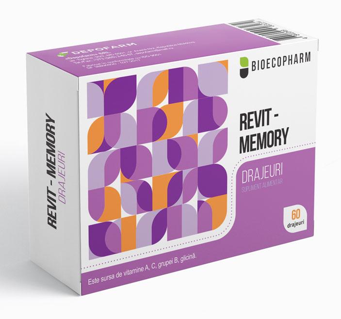 Купить Драже REVIT - MEMORY Nr. 20x 3 (РЕВИТ МЕМОРИ)
